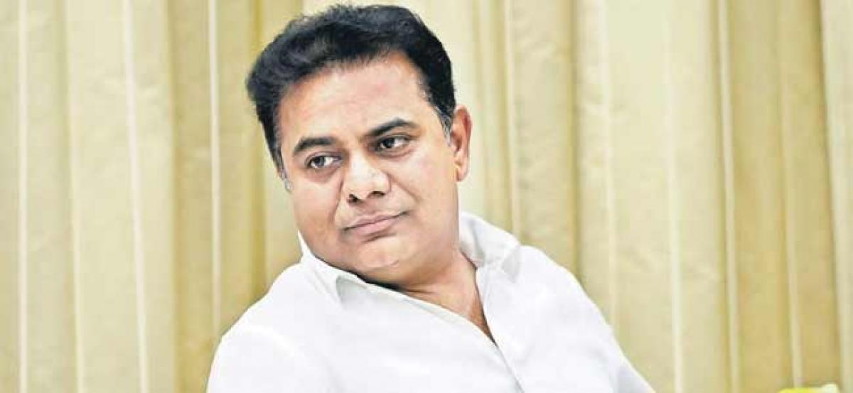 Telangana: KTR invited to Bloomberg summit