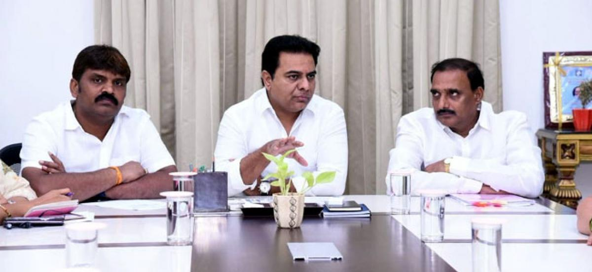 KTR: TS Govt aims to create more facilities for commuters