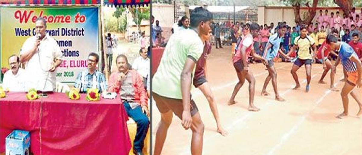 Sports persons have bright future: Ramprasad