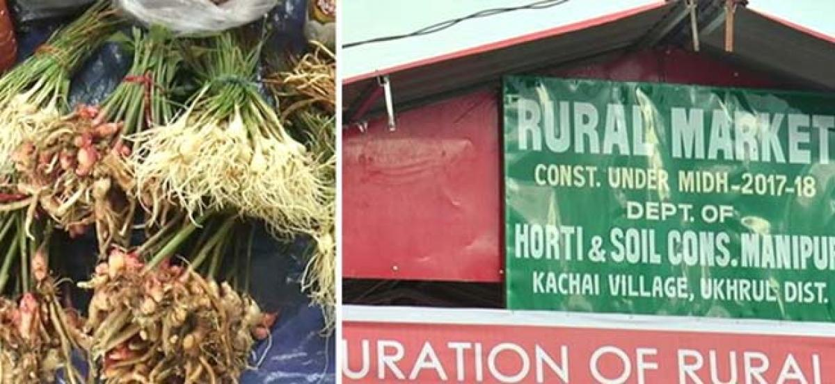 Kachai gets its first market shed to promote organic products