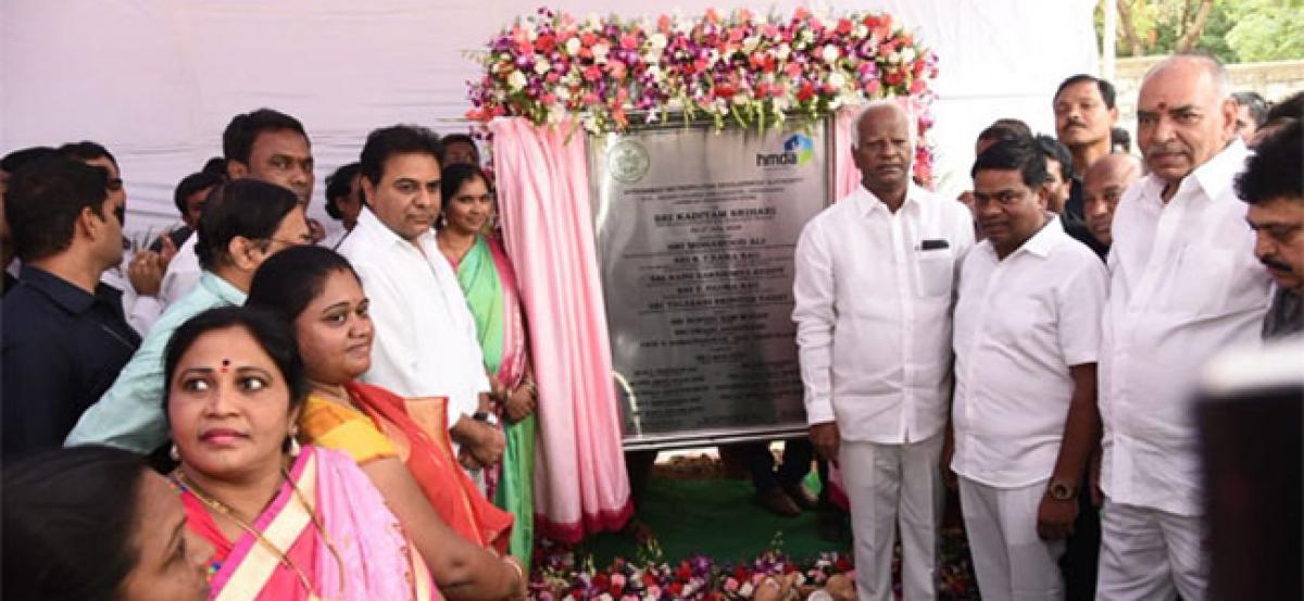 Foundation Stone laid for Rs. 6.25 Cr Nizam College Girls Hostel