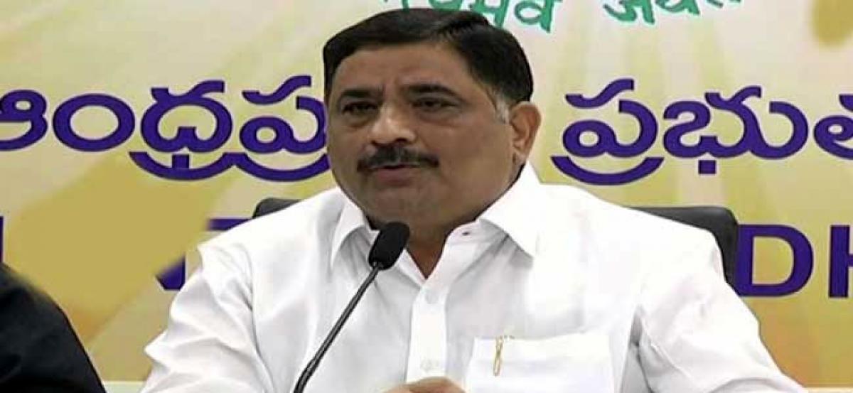 Providential escape for Minister Kalva Srinivasulu