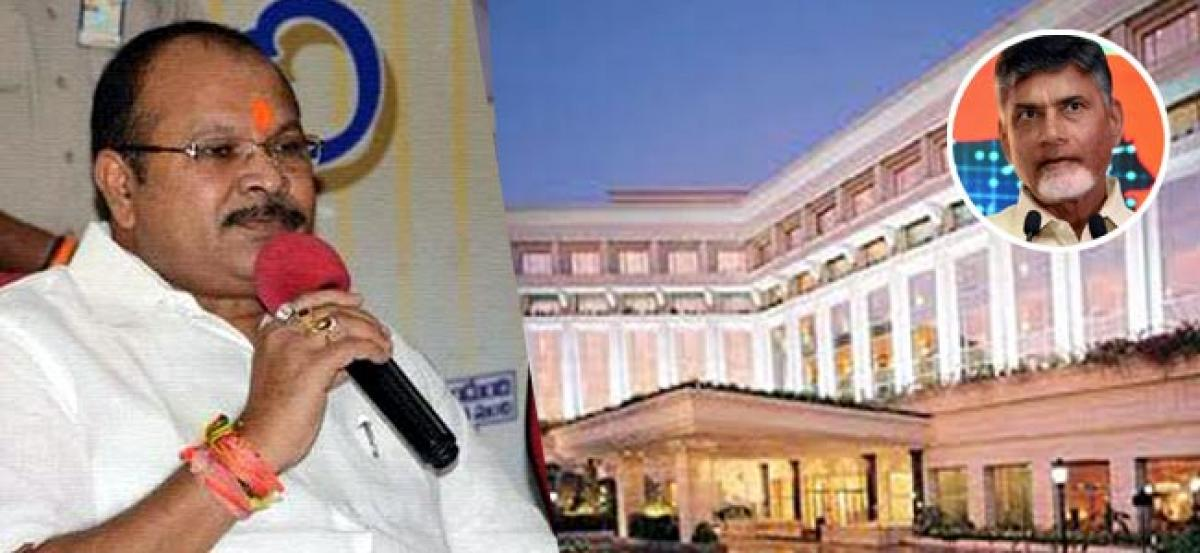 Chandrababu Spends Rs 30 Crore For Stay In Star Hotel