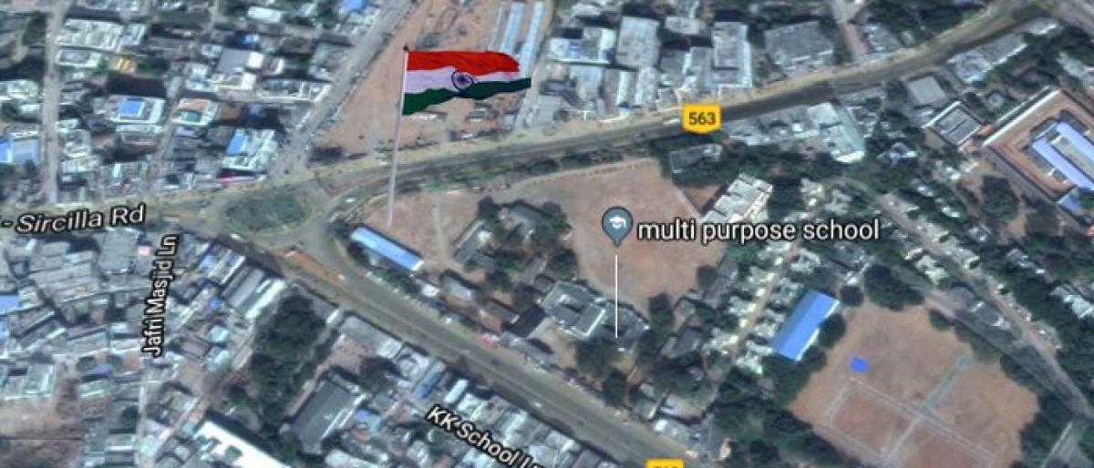 Karimnagar to be home for 2nd largest tricolour in Telangana