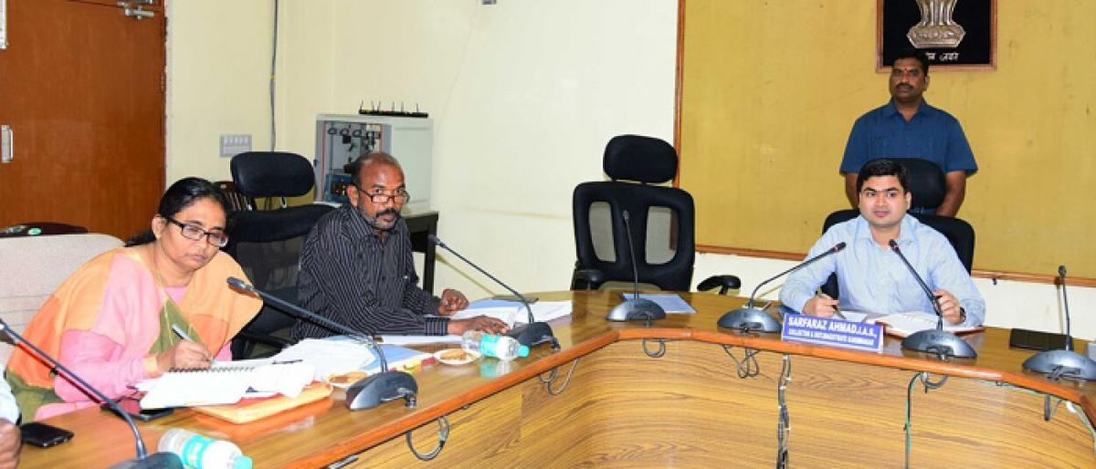 Govt to waive off weavers' loans up to Rs 1 lakh: Karimnagar Collector