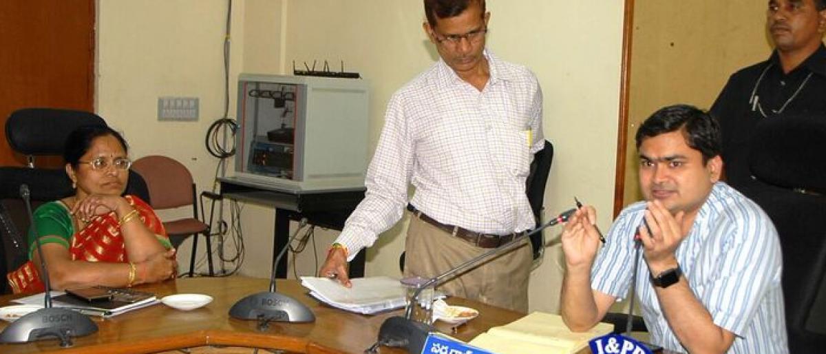 Exercise for new gram panchayats begins in Karimnagar