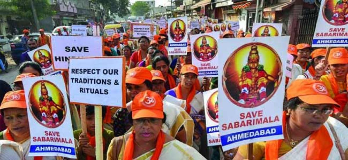 BJP's rath yatra to 'protect' Sabarimala traditions begins today