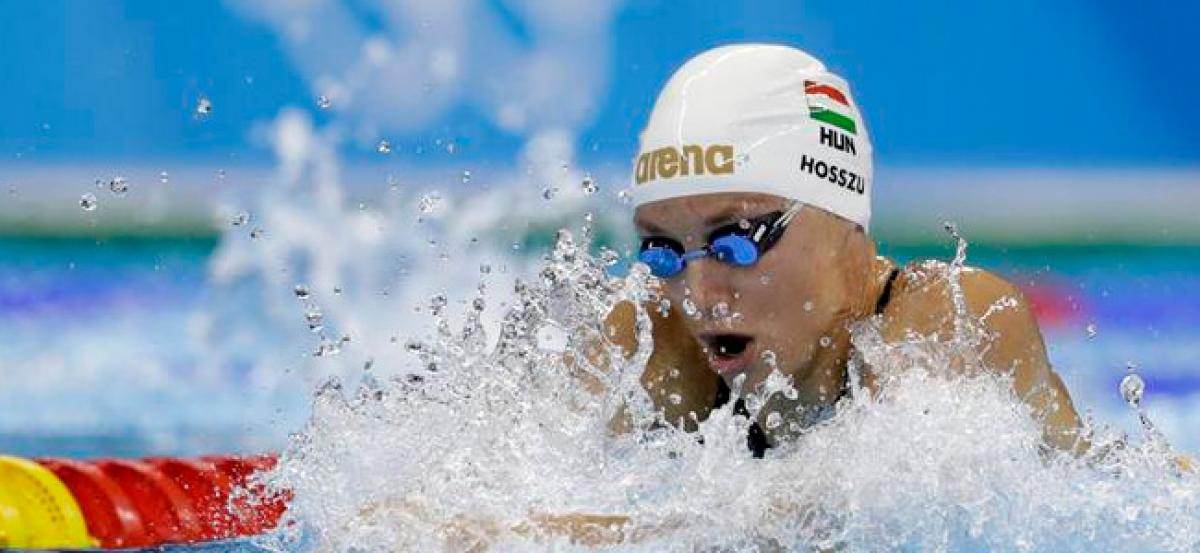 Hosszu launches swimmers union in war with FINA