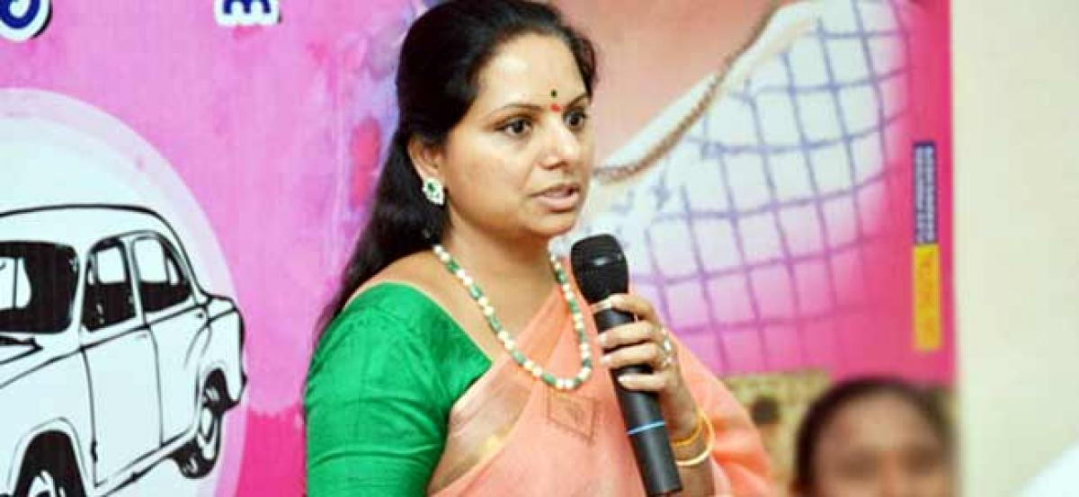 Kutami will have 3 high commands: Kavitha