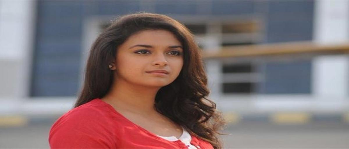 Keerthy Suresh is on a roll