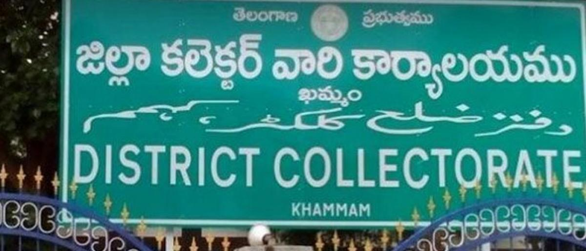 Construction of Khammam Collectorate complex stayed