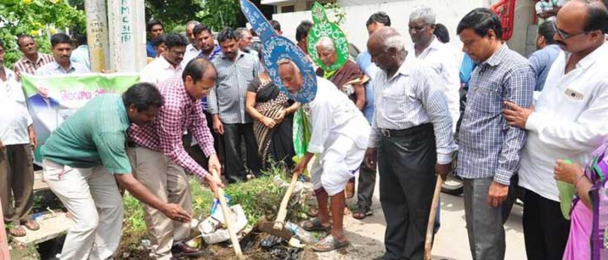 Green crusader calls for clean India