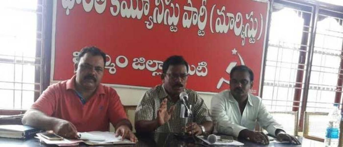 CPM decries shifting of Collectorate