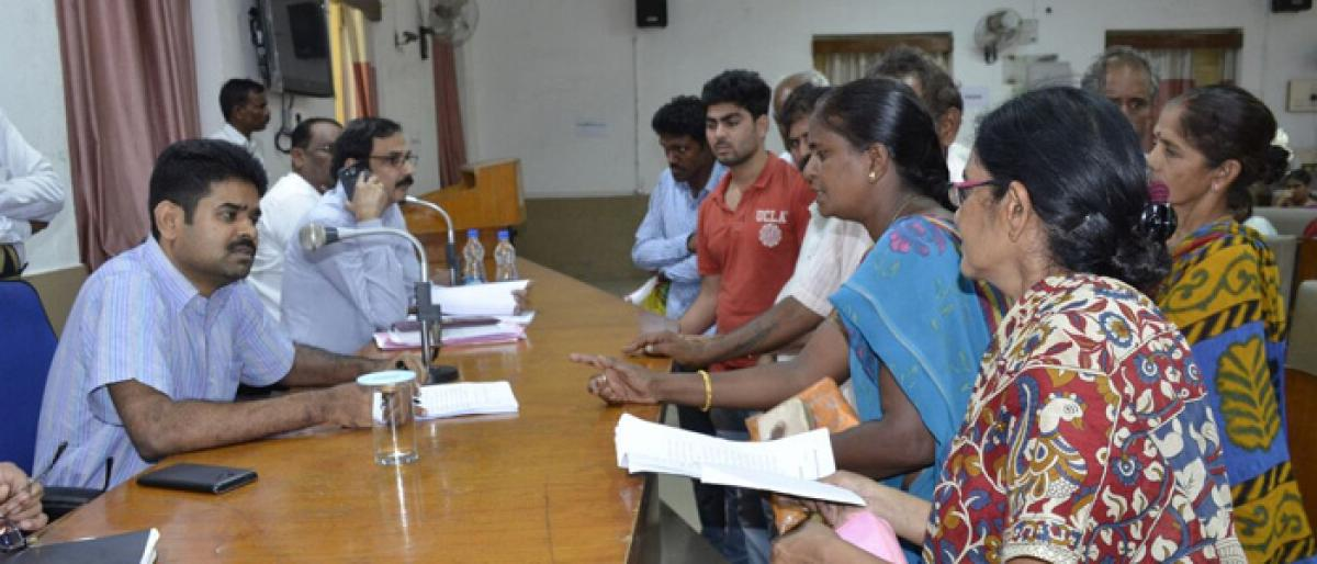 Redress grievances of people: Khammam Collector to officials