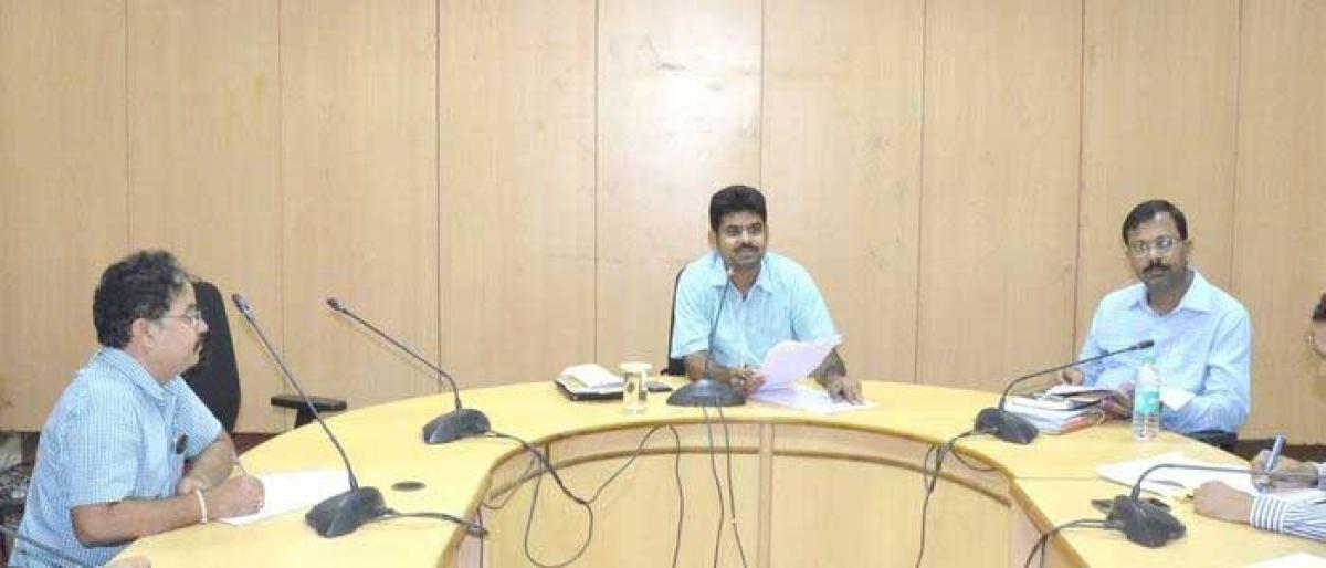 Officials told to make grand arrangements for Bathukamma festival