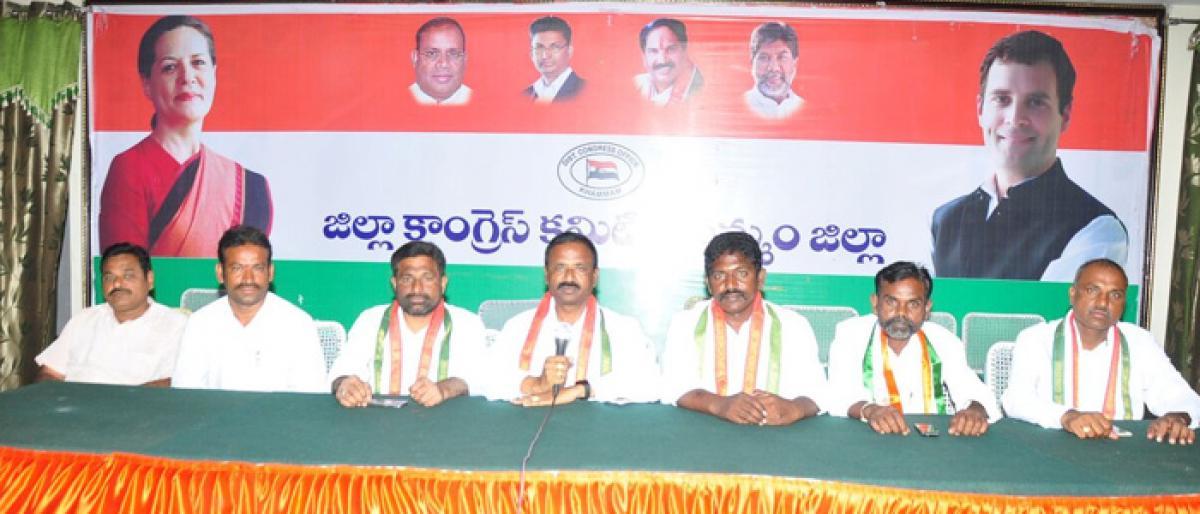 Rythu Bandhu scheme does not provide respite to farmers: Congress