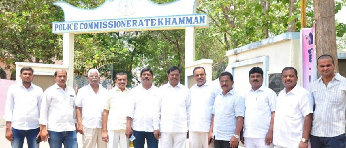 Opposition accuses TRS MLA of making false charges