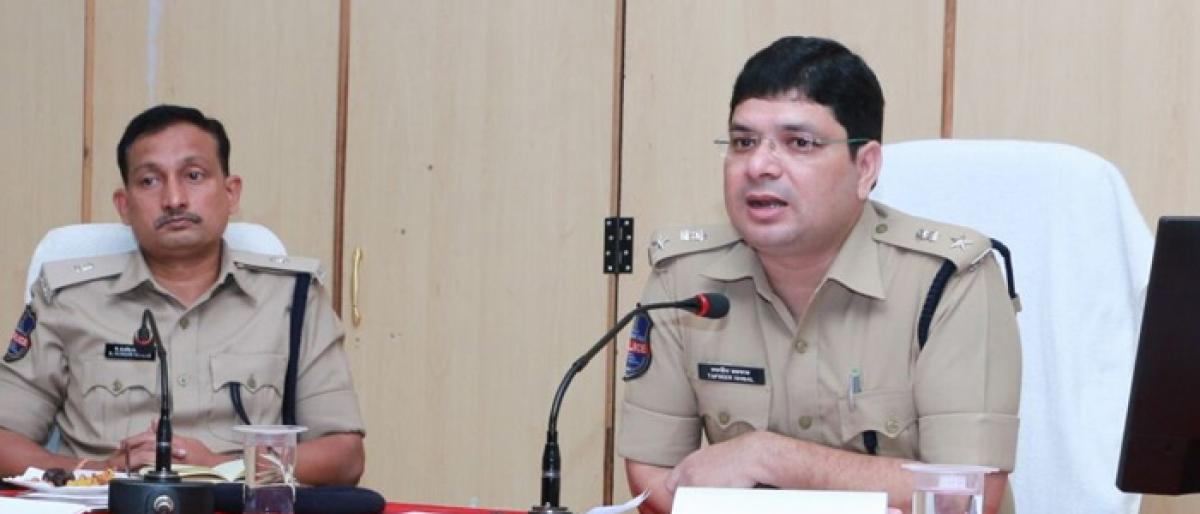Three constables suspended by Khammam police commissioner over irregularities