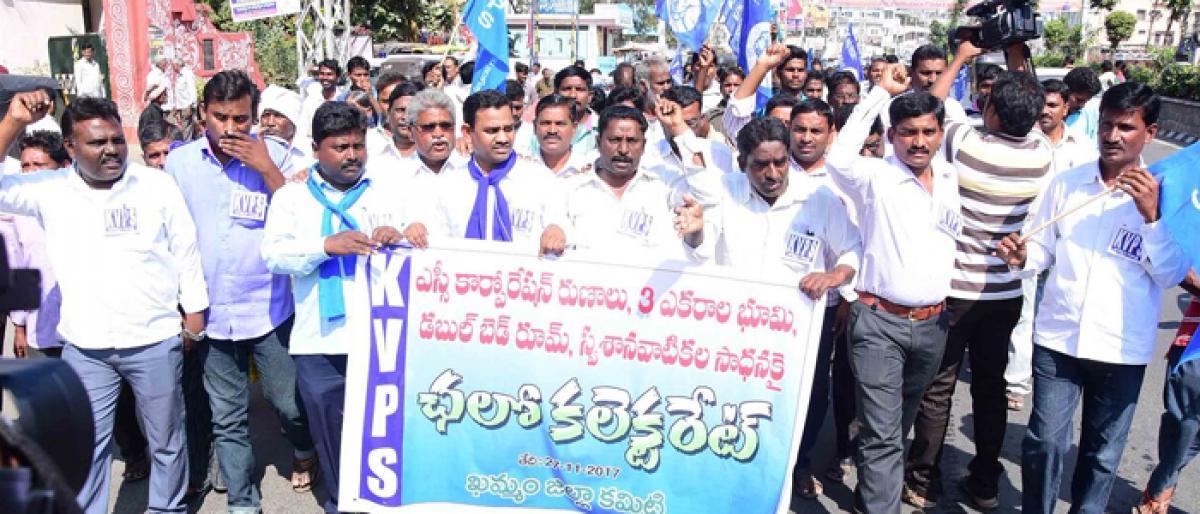 TRS must fulfil poll promises, demands KVPS