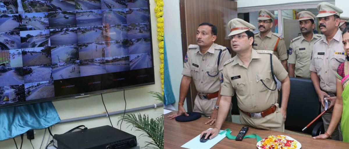 More use of technology to step up security in Khammam: CP