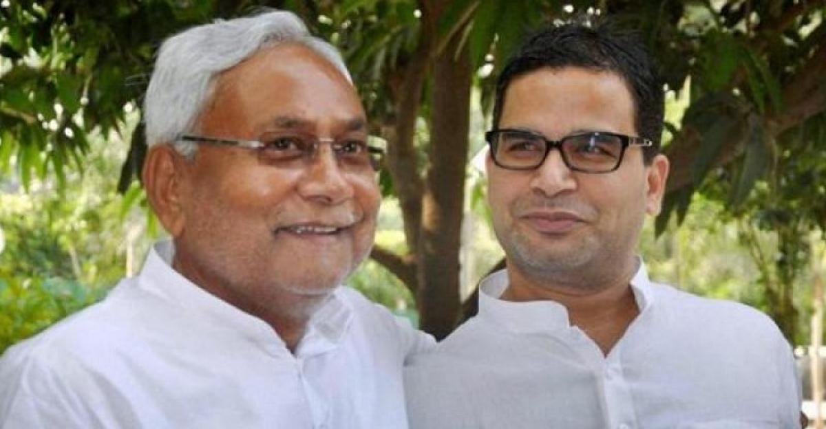 Political strategist Prashant Kishor joins JD-U