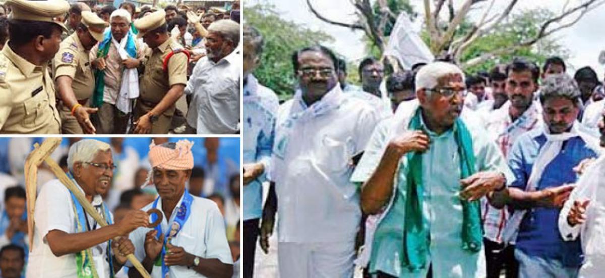 TJS president Kodandaram arrested, released