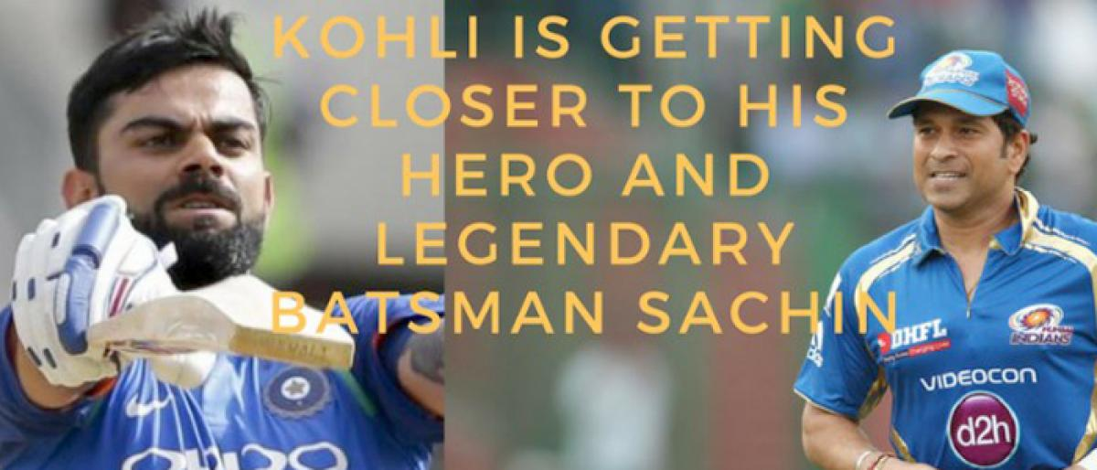 Virat Kohli on the verge of joining the elite 10,000 ODI runs club