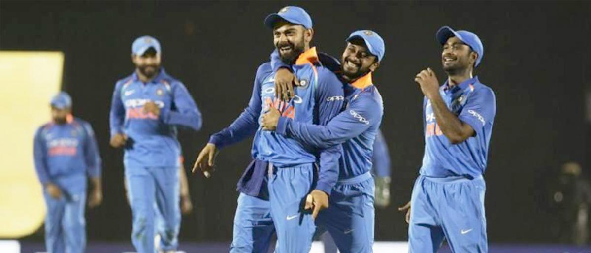 4th ODI: India Win! Crushes West Indies by 224 runs, take 2-1 lead