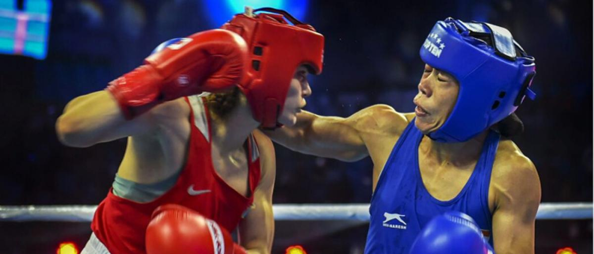 Mary Kom in quarters, Sarita out of women's boxing Worlds