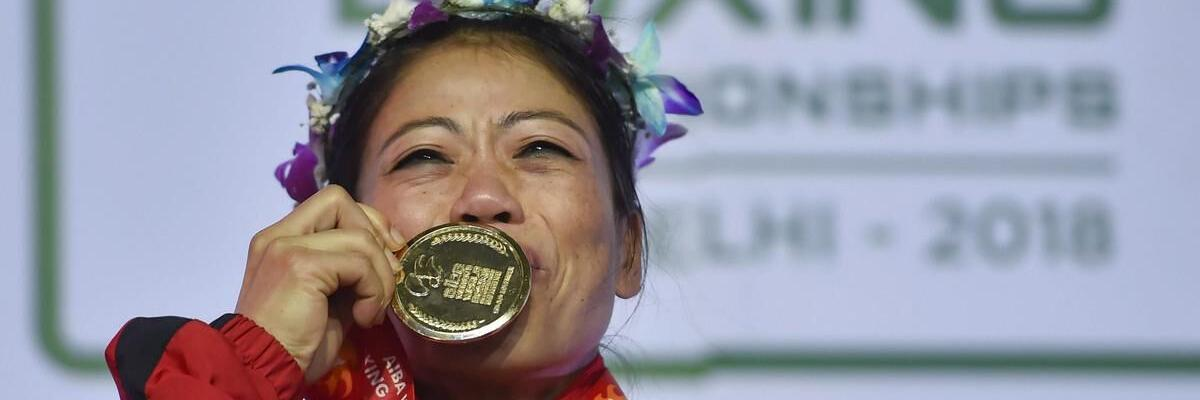 Mary named best boxer of World Championship
