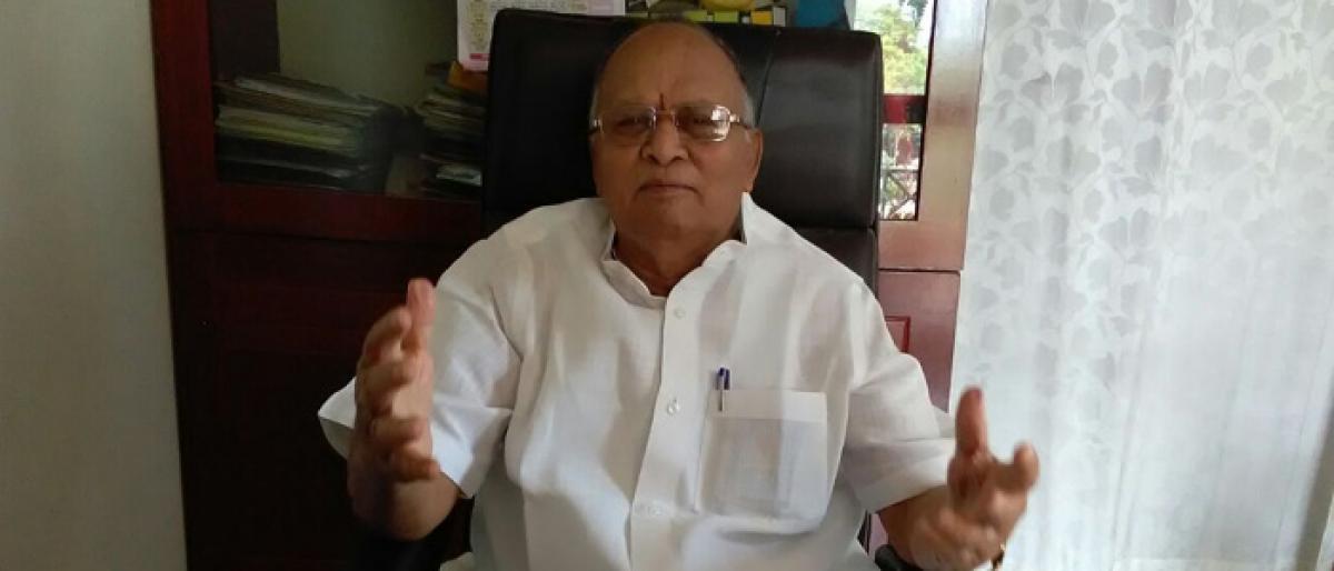 Harijan Sevak Sangh praises KCR to the skies