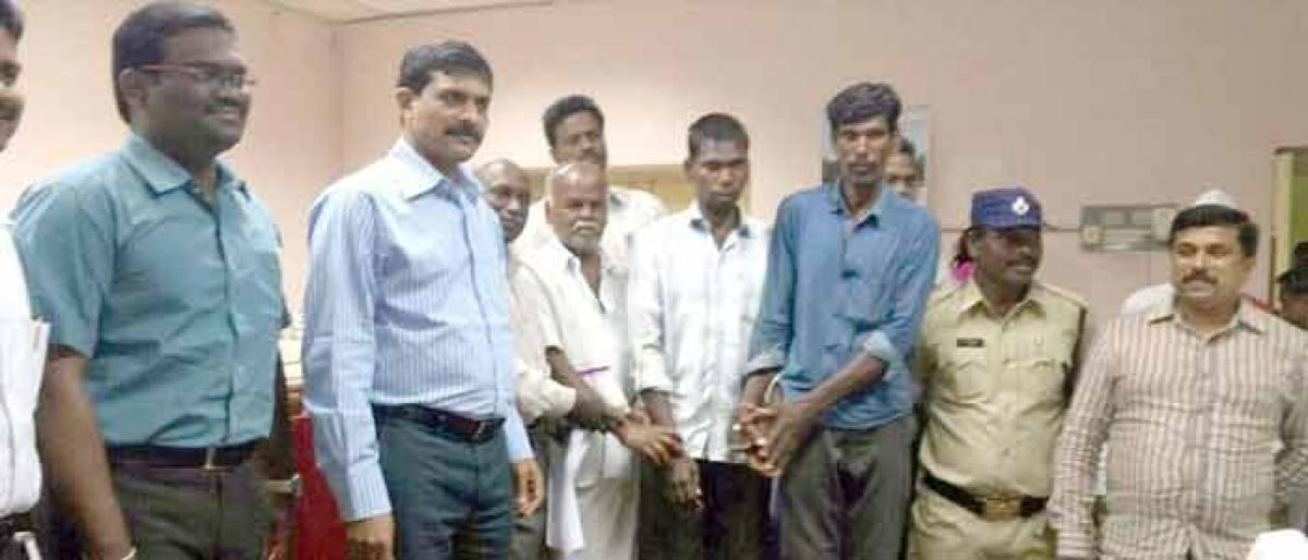 Tamilian suffering from dementia reunited with family