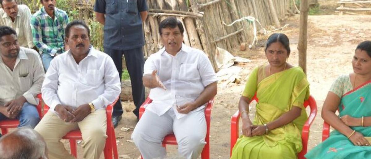 Kothagudem MLA clears villagers doubts on underground mines