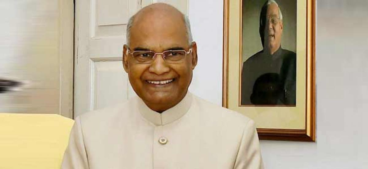 YSRCP to meet President Kovind on November 9