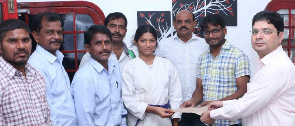 SKMHS student makes it to national-level Karate competitions