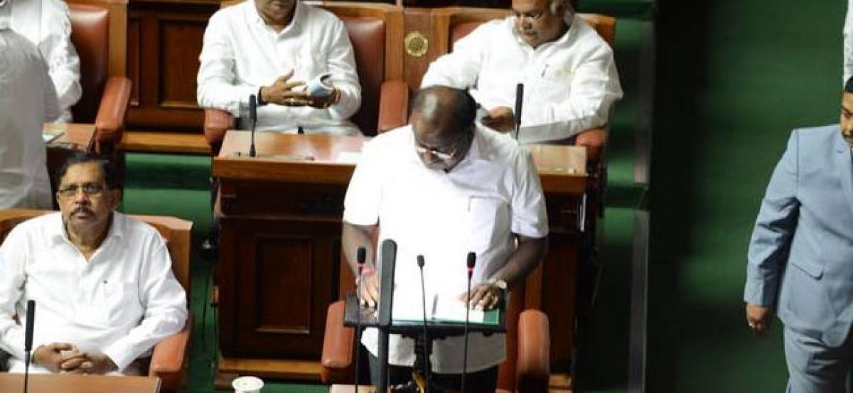 In maiden budget, Kumaraswamys Rs 34,000 Cr farm loan waiver scheme