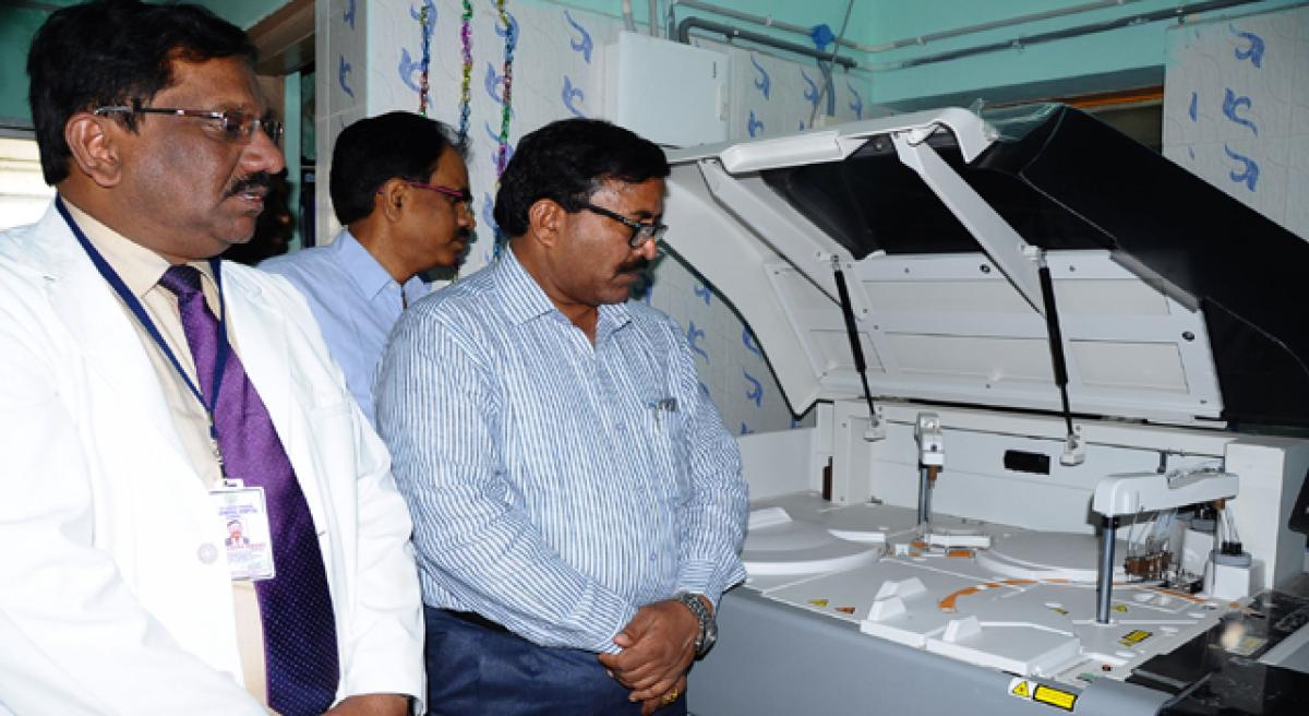 Government General Hospital gets automatic hormonal analyser