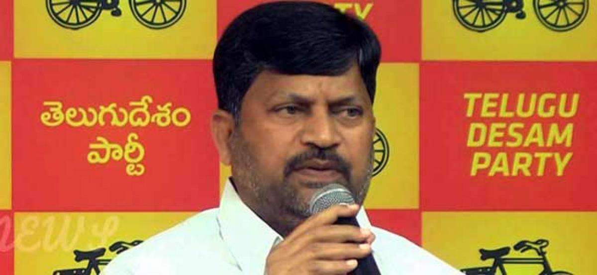 TRS scared of Mahakutami: L Ramana
