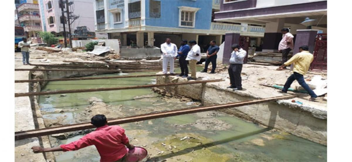 Officials asked to expedite drainage works