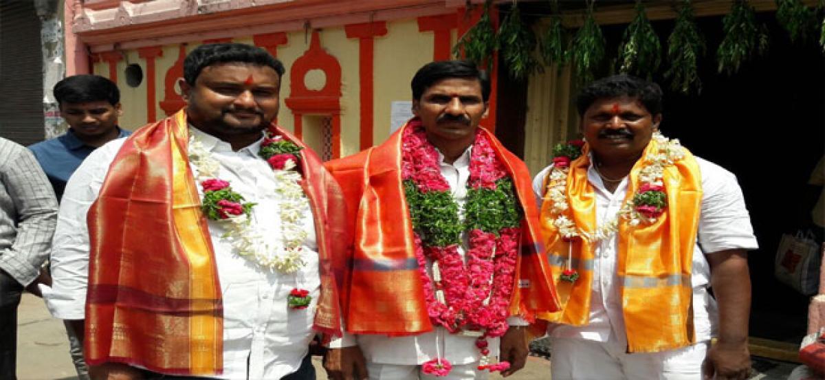 Laldarwaza Mahankali Temple gets new executive body