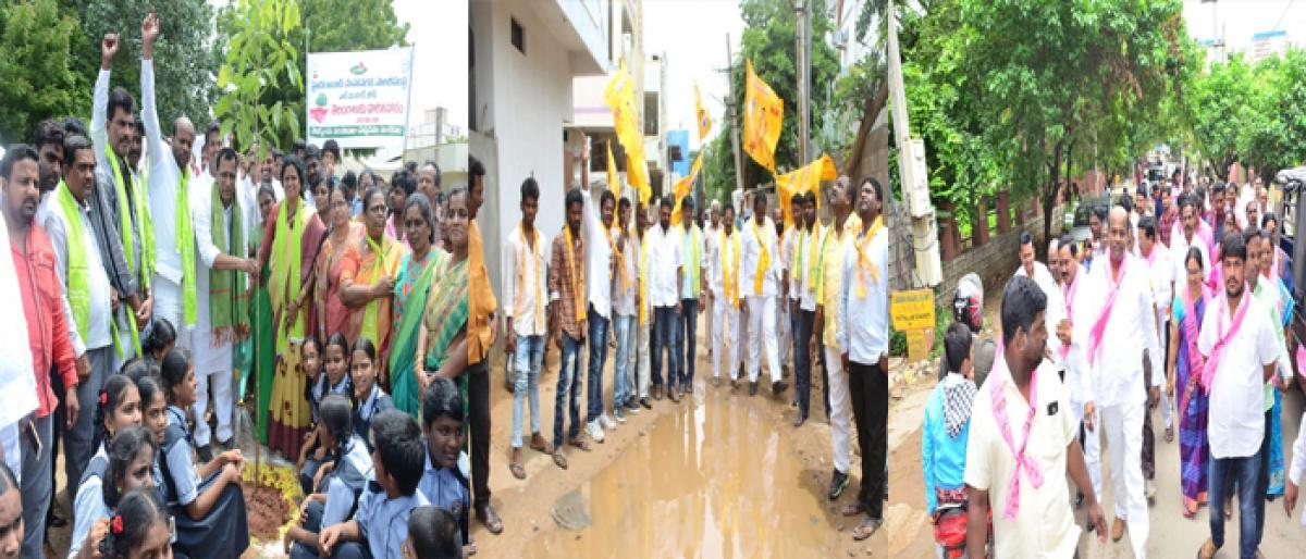 Political heat rises in LB Nagar