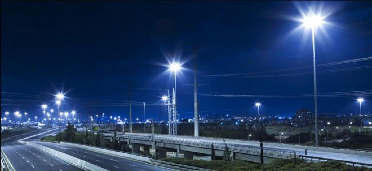 Centralised monitoring system set up for LED street lights