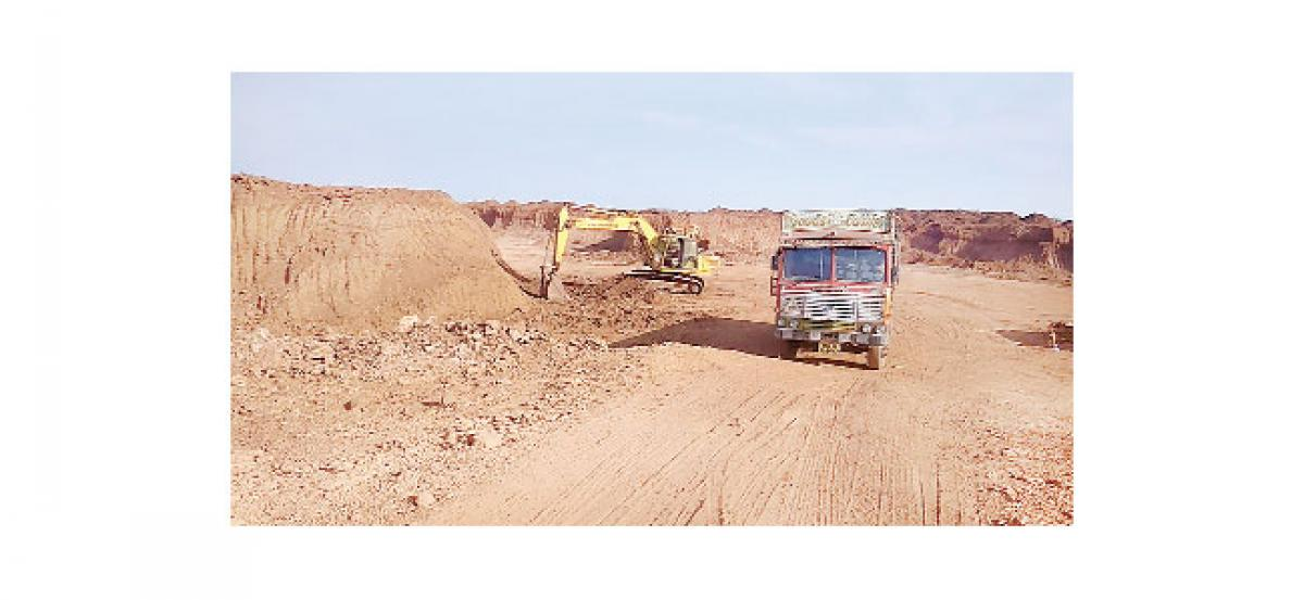 Laterite mining goes unabated