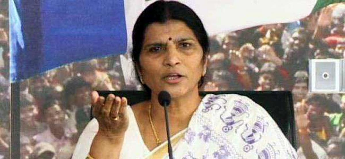 Lakshmi Parvathi dares Chandrababu to go for fresh elections