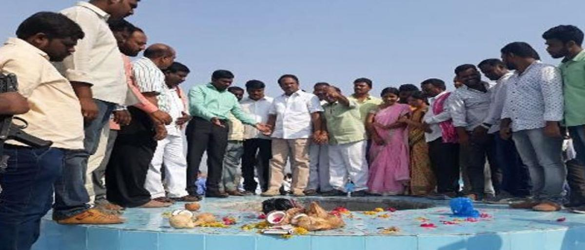 Mission Bhageerahta WTP trial run launched Mahbubnagar