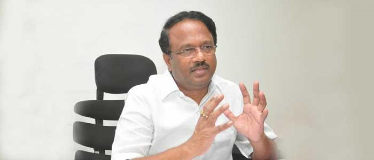 Our focus is on overall development & welfare: Dr C Laxma Reddy