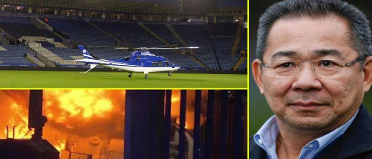 Leicester City owner confirmed dead in chopper crash