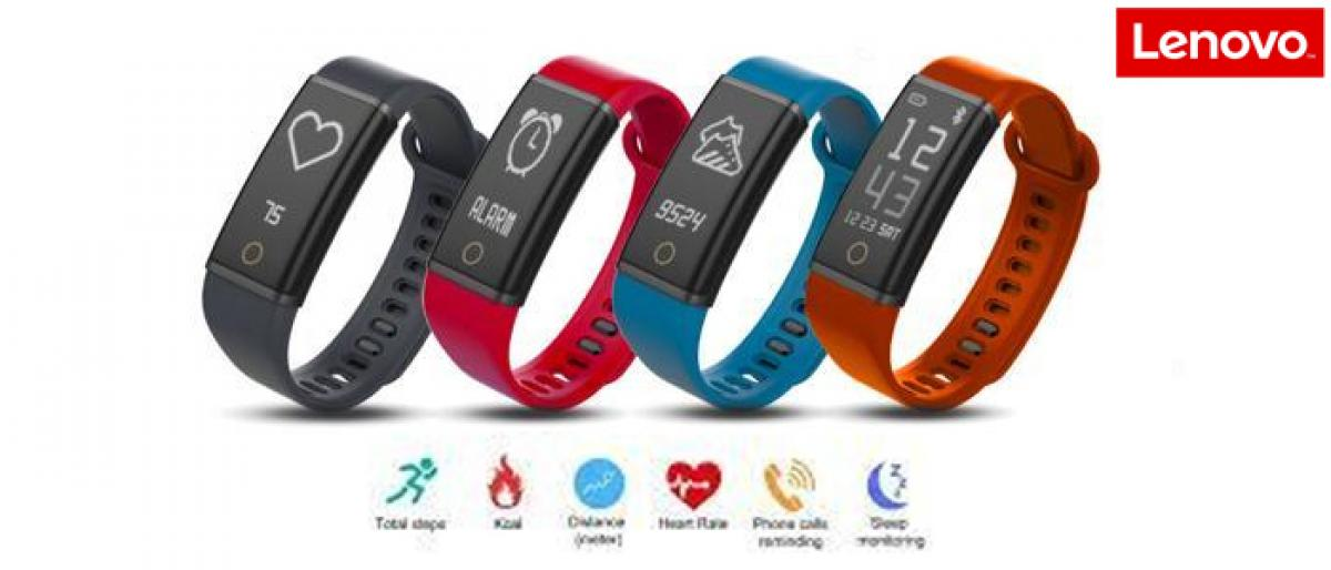 Lenovo Cardio Plus HX03W smart band