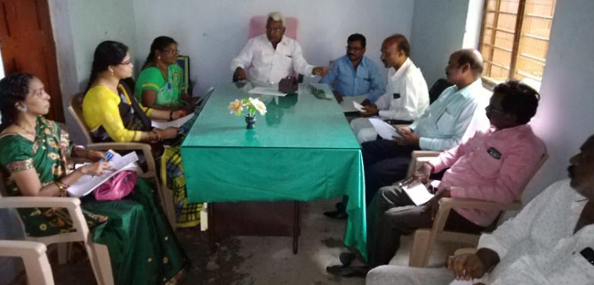 Efforts on to revive libraries in Kothagudem