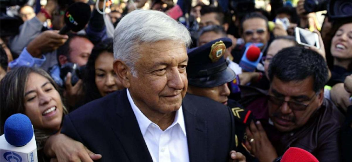 Exit polls show Mexicos Lopez Obrador winning election; rivals concede